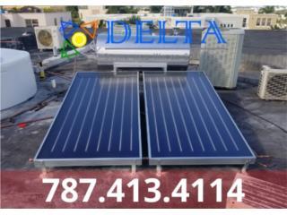 Calentadores solares , DELTA SOLAR CORP. 787.413.4114 Puerto Rico
