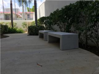 ASIENTOS BANCOS CEMENTO CONCRETO MUEBLES, 713 Precast LLC Puerto Rico