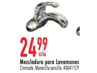 Mezcladora para lavamanos , Ferreteria Ace Berrios Puerto Rico