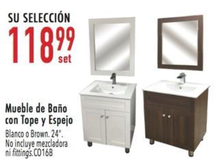 Mueble de baño , Ferreteria Ace Berrios Puerto Rico