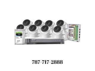 Aguadilla Puerto Rico Sistemas Seguridad - Alarmas, Camaras 3MP EPCOM Tubo HD