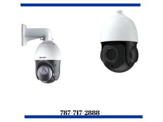 Caguas Puerto Rico Equipo Industrial, Camaras de Seguridad IP, PTZ, Motorizadas