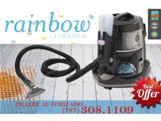 Rainbow Black Ultimo Modelo , Aspiradoras Rainbow P.R Puerto Rico