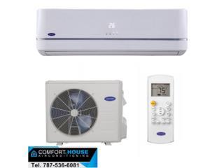 *Carrier máxima eficiencia 32seer 12,000btu, Comfort House Air Conditioning Puerto Rico