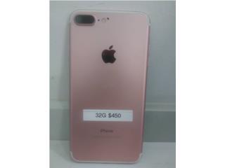 Iphone 7 Plus 32 GB Rose Gold Unlock., Iphone FACTORY Puerto Rico