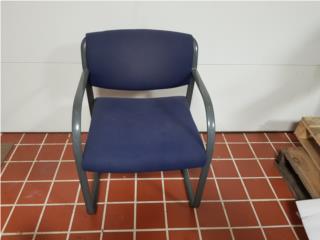6 sillas de espera. Azules, ECONO/CRISIS SOLUTIONS Puerto Rico