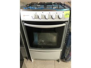 Estufa de Gas blanca 20, Electro Appliance Puerto Rico