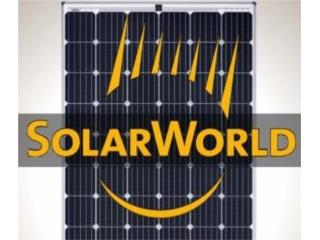 SOLARWORLD SUNMODULE PLUS SW 295 MONO, MULTI BATTERIES & FORKLIFT, CORP. Puerto Rico
