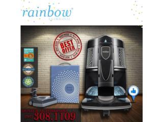Aspiradoras Rainbow Black Ultimo Modelo, Aspiradoras Rainbow P.R Puerto Rico