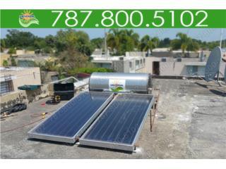 CALENTADOR SOLAR INVERSIÓN EN TU PROPIEDAD  , UNIVERSAL SOLAR - METRO/ISLA         787-800-5102 Puerto Rico