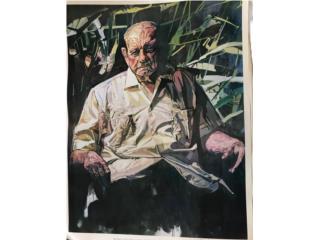 Francisco Rodón - Retrato de Luis Muñoz Marín, PR ART COLLECTION Puerto Rico