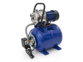 Bomba Agua 1 HP y Tanque Presurizado , Sigma Distributors PR Puerto Rico