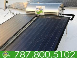 EXCLUSIVO CALENTADOR SOLAR NUEVO BLUE FOREST!, UNIVERSAL SOLAR - METRO/ISLA         787-800-5102 Puerto Rico
