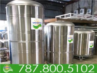 CISTERNAS SS 1200, 780, 600 Y 450 GLS        , UNIVERSAL SOLAR - METRO/ISLA         787-800-5102 Puerto Rico
