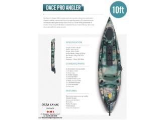 Precio de almacen10 pies PESCA con timon, Orza Kayak Puerto Rico