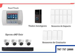 Sistema de Seguridad INTERACTIVO, Security & Automation  Puerto Rico