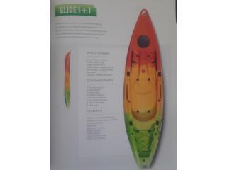 Venta 4 JULIO Orza Kayak Glide 1+1 personas , Orza Kayak Puerto Rico