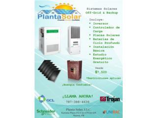 Planta Solar 24/7 No dependa de la autoridad, 24/7 Planta Solar Puerto Rico