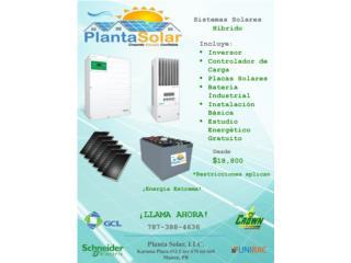 Planta Solar 24/7 Energía Extrema off grid, 24/7 Planta Solar Puerto Rico