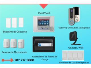 Alarma de Seguridad y Casa Inteligente, Security & Automation  Puerto Rico