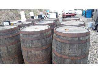 Barriles rusticos en madera importados, NEBRIEL ENVASES DE PUERTO RICO Puerto Rico