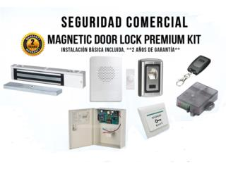 Ponce Puerto Rico Equipo Comercial-Restaurantes y Cocinas, Alarmas Negocios Cerraduras Magnéticas AQUI