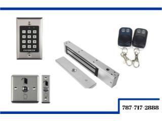 Fajardo Puerto Rico Sistemas Seguridad - Camaras, Magnetos para puerta/Porton