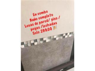 Combo para Baño , La casa de los Mosaikos Puerto Rico
