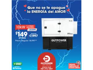 !!!10KW ESPECIAL PERKIN'S / STAMFORD $7997!!!, OUTPOWER ENERGY (INDUSTRIAL) Puerto Rico