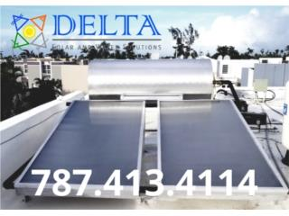Delta solar calentadores solares, DELTA SOLAR CORP. 787.413.4114 Puerto Rico
