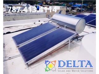 Calentadores Solares, DELTA SOLAR CORP. 787.413.4114 Puerto Rico