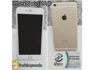 iPhone 6PLUS 16GB GOLD - UNLOCKED, iZone Technology San Juan Puerto Rico