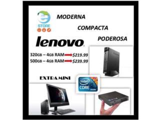 Lenovo M93 (Extra Mini) ADD $25.00 OFF!!, E-Store PR Puerto Rico