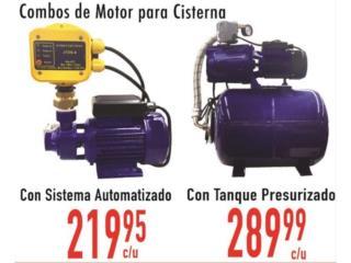 Ponce Puerto Rico Energia Renovable Solar, Combos de motor para cisterna