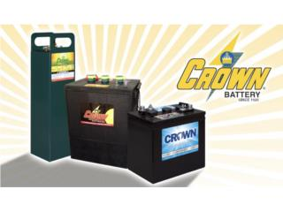 BATERIAS CROWN - SISTEMAS SOLARES O BACK UP, MULTI BATTERIES & FORKLIFT, CORP. Puerto Rico