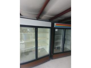 Neveras comerciales en puertas de cristal, Refrigeracion AM Puerto Rico