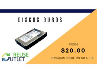 DISCO DUROS, Reuse Outlet Store Puerto Rico