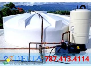 DELTA Cisternas , DELTA SOLAR CORP. 787.413.4114 Puerto Rico