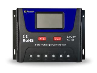 Smart Solar Charge Controller (12/24v), MULTI BATTERIES & FORKLIFT, CORP. Puerto Rico