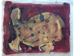 """""""Pez Guanábana"""" - Julio Rosado del valle, PR ART COLLECTION Puerto Rico"""