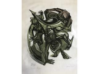 """Lorenzo Homar - """"Acróbata Marroquí"""", PR ART COLLECTION Puerto Rico"""