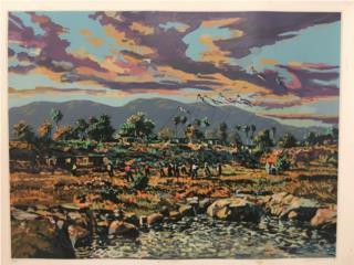 ¨Paisaje Sureño¨. Wichie Torres, PR ART COLLECTION Puerto Rico
