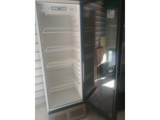 Nevera 1 puerta de cristal, Refrigeracion AM Puerto Rico