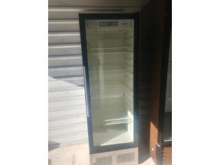 Nevera 1 puerta cristal, Refrigeracion AM Puerto Rico