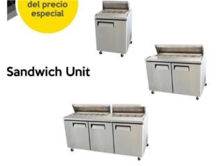 Sandwich Unit NUEVO, JL Trailers Equipment Puerto Rico