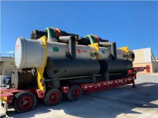 Chiller Trane centrifuga 1,250 Tons , All Equipment Puerto Rico