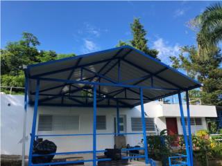 Techos galvalume, ORTEGA'S IRON WORKS Puerto Rico