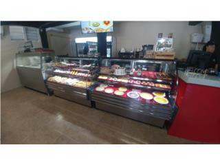 Vitrinas curvas de panaderia 60, Promas, Inc Puerto Rico
