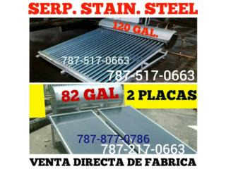 Calentador Solar 100% Stainless Steel, Quality Solar System 787-517-0663  Puerto Rico