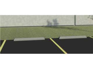 Parking Estacionamiento wheel stops postes PR, 713 Precast LLC Puerto Rico
